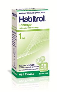 1mg Habitrol Lozenges - 20 packs