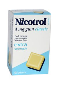 Nicotrol 4mg x 3 packs